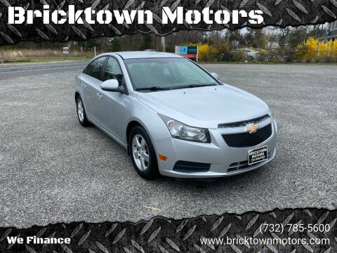 2012 Chevrolet Cruze for sale at Bricktown Motors in Brick NJ