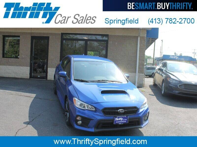 2018 Subaru WRX for sale at Thrifty Car Sales Springfield in Springfield MA