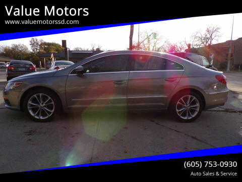 2010 Volkswagen CC for sale at Value Motors in Watertown SD