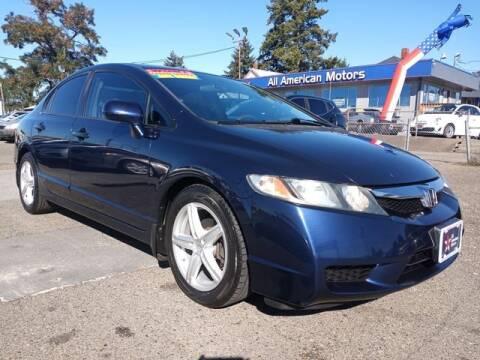2009 Honda Civic for sale at All American Motors in Tacoma WA