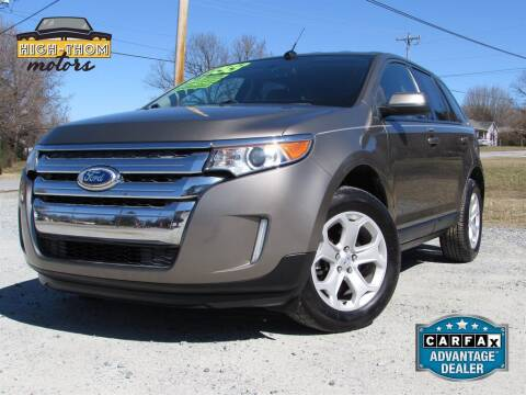 2013 Ford Edge for sale at High-Thom Motors in Thomasville NC