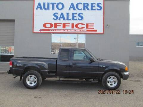 2001 Ford Ranger for sale at Auto Acres in Billings MT