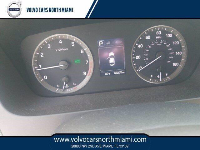2017 Hyundai Sonata for sale at Volvo Cars North Miami in Miami FL