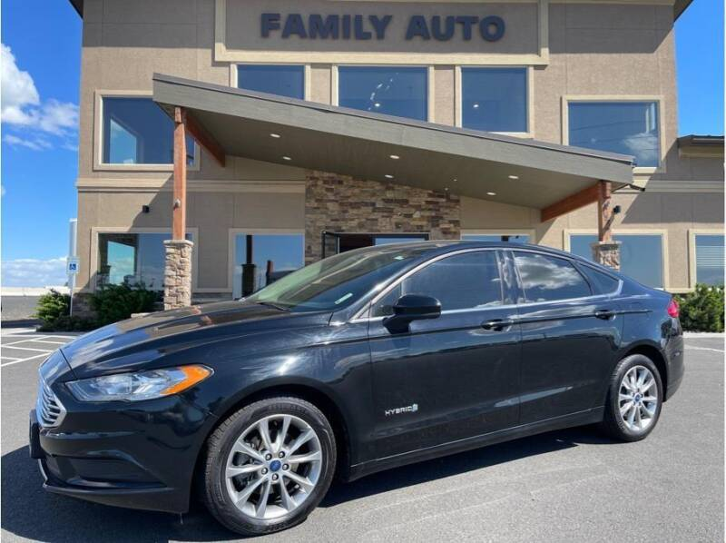 2017 Ford Fusion Hybrid for sale at Moses Lake Family Auto Center in Moses Lake WA