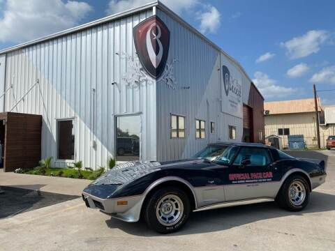 1978 Chevy Corvette for sale at Barrett Auto Gallery in San Juan TX