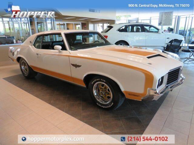 1972 Oldsmobile 442 for sale in Mckinney, TX