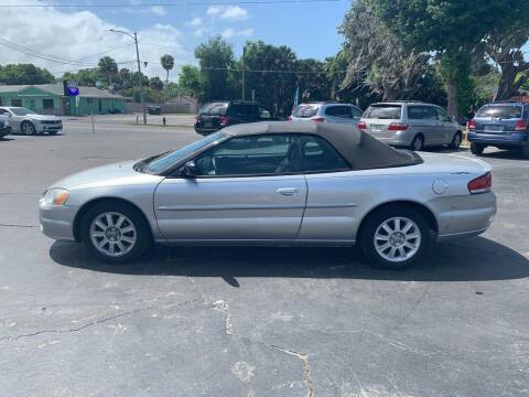 2005 Chrysler Sebring for sale at BSS AUTO SALES INC in Eustis FL