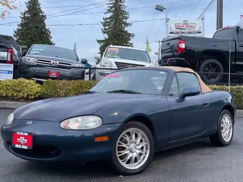 1999 Mazda MX-5 Miata for sale at Real Deal Cars in Everett WA