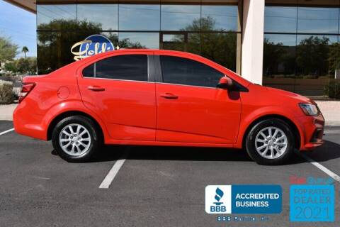 2017 Chevrolet Sonic for sale at GOLDIES MOTORS in Phoenix AZ