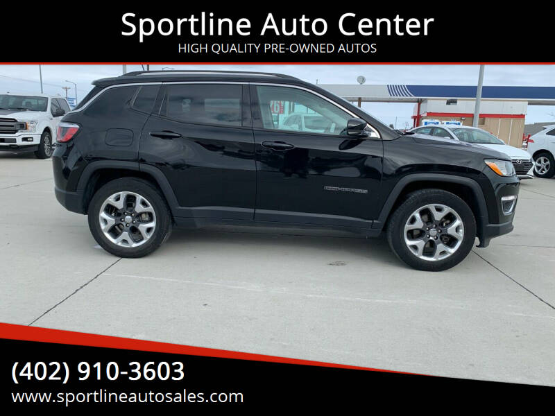 2018 Jeep Compass for sale at Sportline Auto Center in Columbus NE