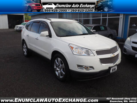 2012 Chevrolet Traverse for sale at Enumclaw Auto Exchange in Enumclaw WA