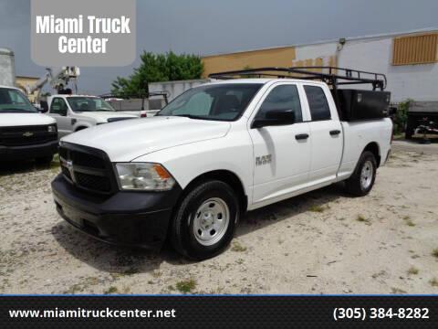 2016 RAM Ram Pickup 1500 for sale at Miami Truck Center in Hialeah FL