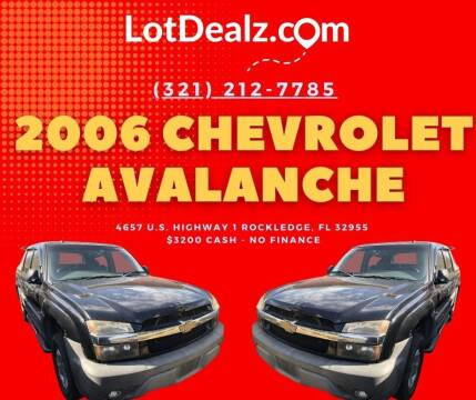 2006 Chevrolet Avalanche for sale at ROCKLEDGE in Rockledge FL