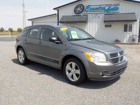 2011 Dodge Caliber for sale at Country Auto in Huntsville OH