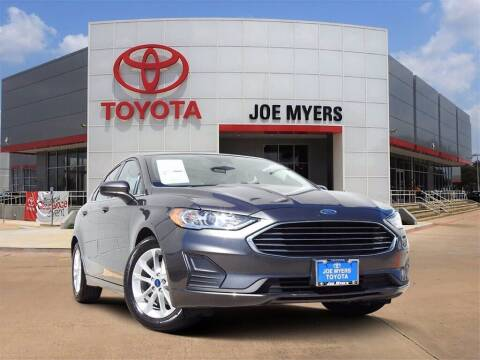 2019 Ford Fusion for sale at Joe Myers Toyota PreOwned in Houston TX
