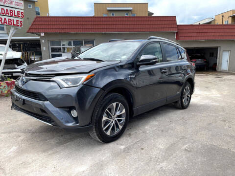 2018 Toyota RAV4 Hybrid for sale at ELITE MOTOR CARS OF MIAMI in Miami FL