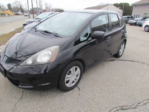2009 Honda Fit for sale at Portsmouth Auto Sales & Repair in Portsmouth RI
