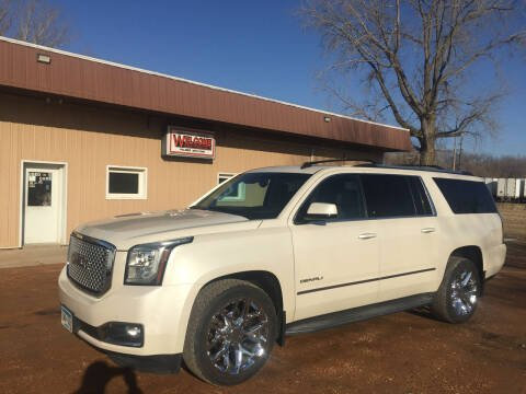 2015 GMC Yukon XL for sale at Palmer Welcome Auto in New Prague MN