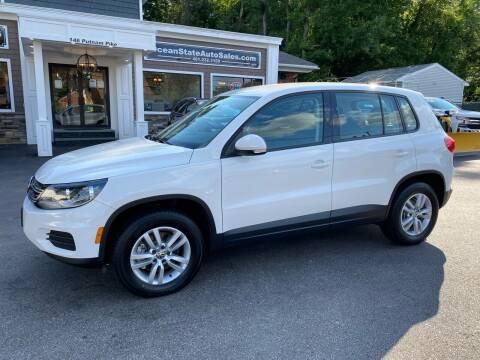 2012 Volkswagen Tiguan for sale at Ocean State Auto Sales in Johnston RI