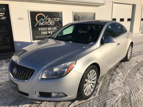 2012 Buick Regal for sale at HILLTOP MOTORS INC in Caribou ME
