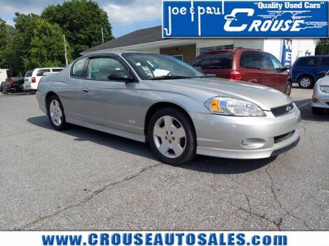 2007 Chevrolet Monte Carlo for sale at Joe and Paul Crouse Inc. in Columbia PA