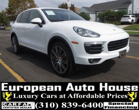 2016 Porsche Cayenne for sale at European Auto House in Los Angeles CA