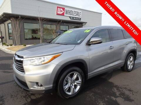 2016 Toyota Highlander for sale at Wholesale Direct in Wilmington NC