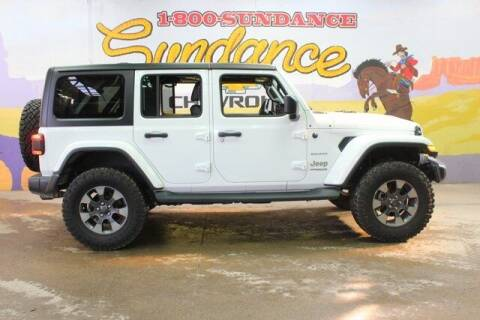 2018 Jeep Wrangler Unlimited for sale at Sundance Chevrolet in Grand Ledge MI