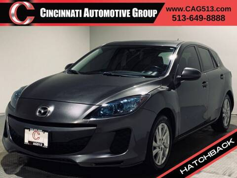 2012 Mazda MAZDA3 for sale at Cincinnati Automotive Group in Lebanon OH