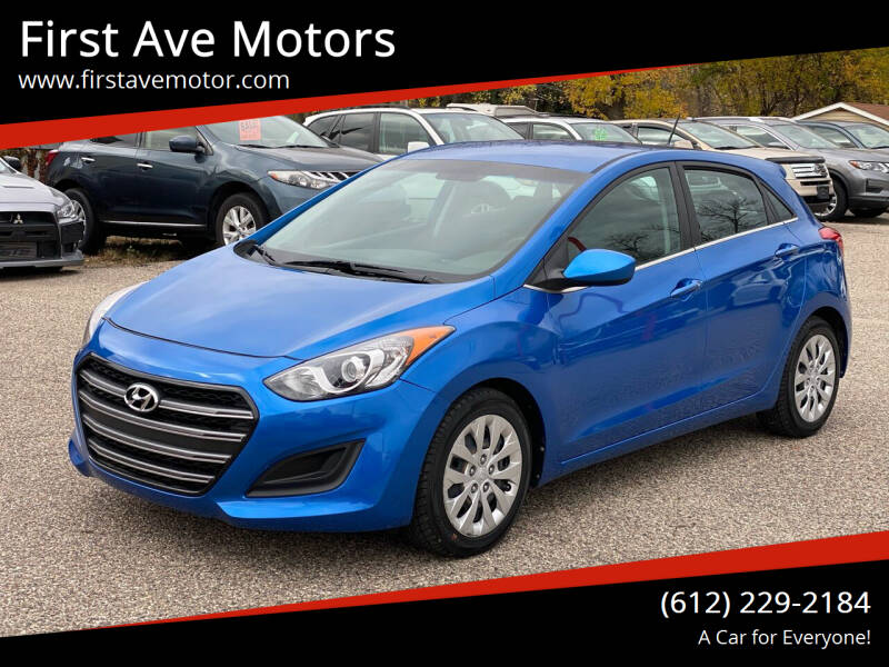 2017 Hyundai Elantra GT for sale at First Ave Motors in Shakopee MN