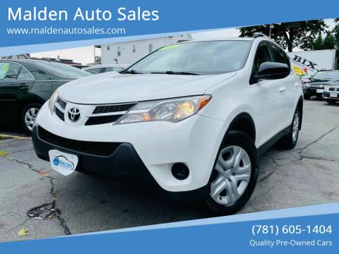 2014 Toyota RAV4 for sale at Malden Auto Sales in Malden MA