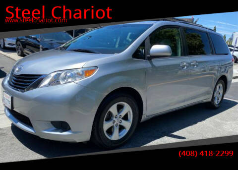 2013 Toyota Sienna for sale at Steel Chariot in San Jose CA