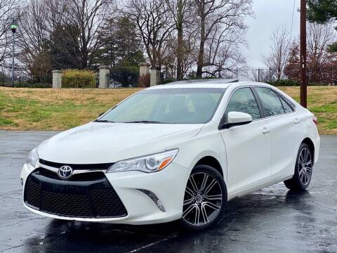 2016 Toyota Camry for sale at Sebar Inc. in Greensboro NC
