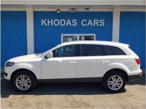 2009 Audi Q7 for sale at Khodas Cars in Gilroy CA