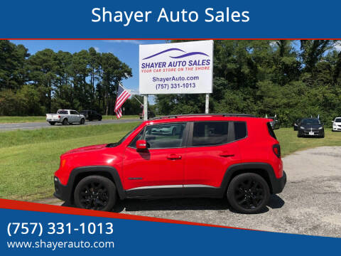2017 Jeep Renegade for sale at Shayer Auto Sales in Cape Charles VA