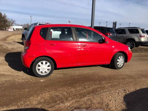 2005 Chevrolet Aveo for sale at TnT Auto Plex in Platte SD