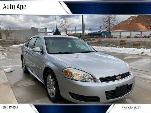2011 Chevrolet Impala for sale at Auto Ape in Salt Lake City UT