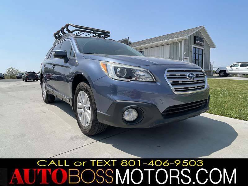 2015 Subaru Outback for sale at Auto Boss in Woods Cross UT