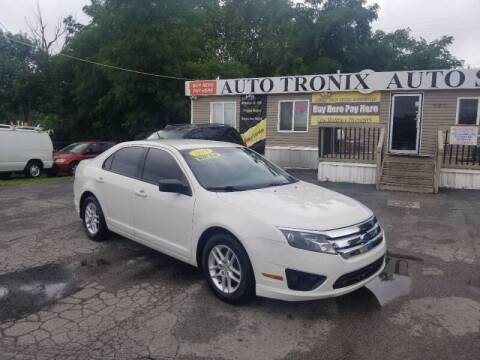 2010 Ford Fusion for sale at Auto Tronix in Lexington KY