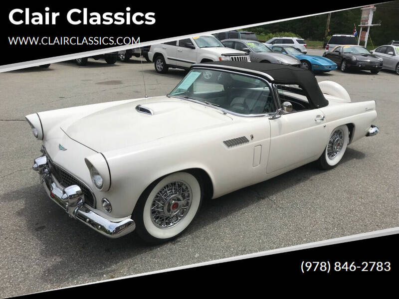 1956 Ford Thunderbird for sale at Clair Classics in Westford MA