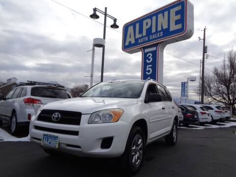 2011 Toyota RAV4 for sale at Alpine Auto Sales in Salt Lake City UT