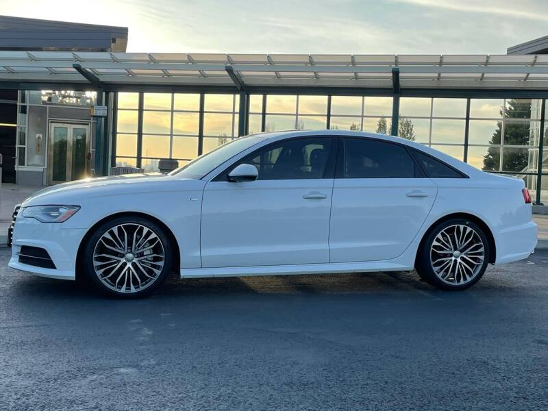 2017 Audi A6 for sale at GO AUTO BROKERS in Bellevue WA