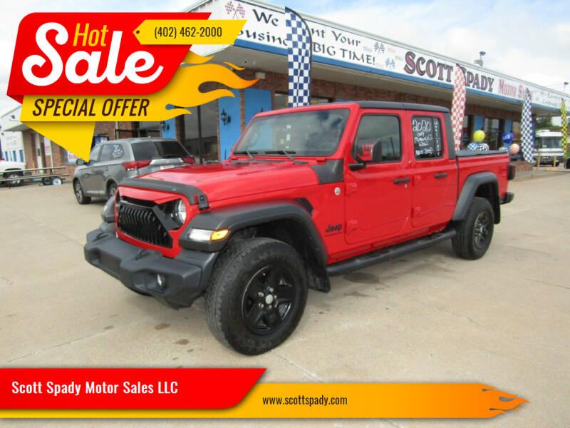 2020 Jeep Gladiator for sale at Scott Spady Motor Sales LLC in Hastings NE