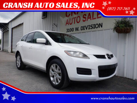 2008 Mazda CX-7 for sale at CRANSH AUTO SALES, INC in Arlington TX