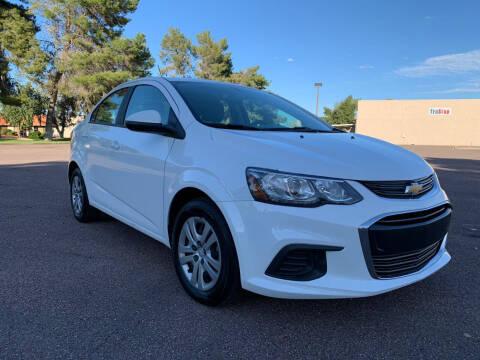 2017 Chevrolet Sonic for sale at AKOI Motors in Tempe AZ