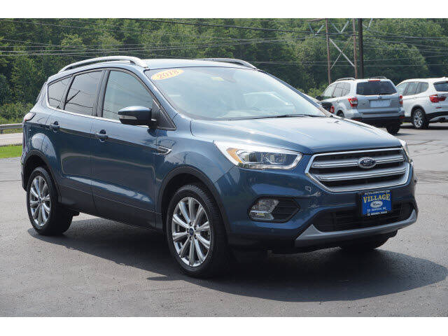 2018 Ford Escape for sale at VILLAGE MOTORS in South Berwick ME
