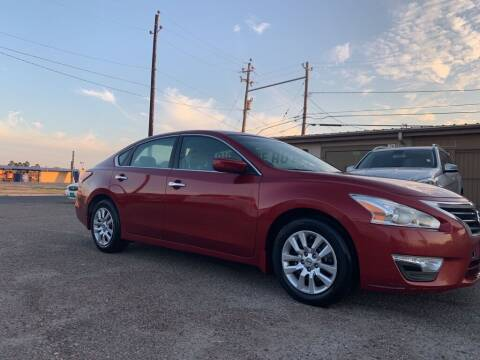 2015 Nissan Altima for sale at Primetime Auto in Corpus Christi TX