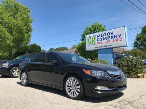 2014 Acura RLX for sale at GR Motor Company in Garner NC