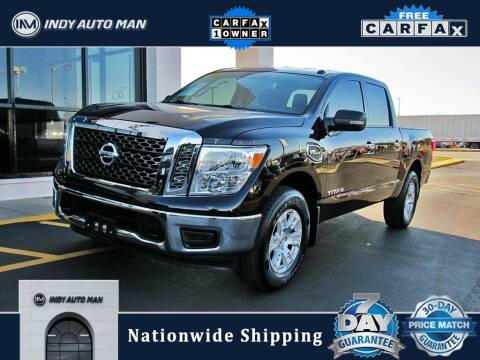 2017 Nissan Titan for sale at INDY AUTO MAN in Indianapolis IN