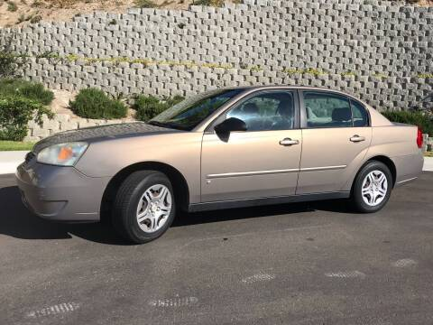 2007 Chevrolet Malibu for sale at CALIFORNIA AUTO GROUP in San Diego CA